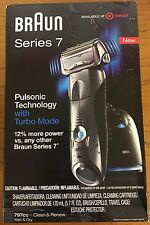 (C) Brand New Braun Series 7 Pulsonic Shaver System 797cc-7 With Turbo Mode