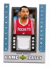 2007-08 Upper Deck UD Game Jersey Juwan Howard