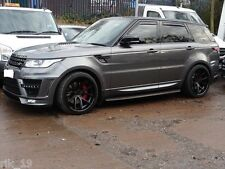"22"" x 11J Alloy Wheels Ferrada FR2 Matt Black Gloss Black Lip Range Rover Sport"