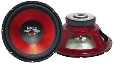 Pyle PLW10RD Woofer Red Label 600 Watt