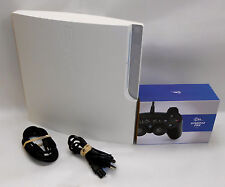 Sony Playstation 3 PS3 Slim Konsole 320 GB Spielkonsole + Controller Weiß White
