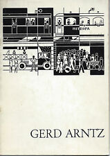 Gerd Antz: Woodcuts from the 1920s; Galerie Gmurzynska, Köln, 1968