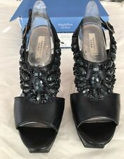 Simply Vera Wang Capello Black Platform High Heel Shoes Ladies Size 8
