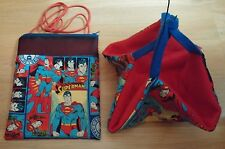 (SUPERMAN COMICS !!) Sugar Glider Bonding Pouch & Sleeping  Hammock!!