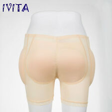IVITA Beige Silicone Padded Buttock  Enhancer body Shaper Panty 3XL Size 890g