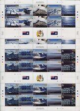 BRIT. ANTARKTIS BAT ANTARCTIC 2012 Eisberge Glaciers ZD-Bögen (2) ** MNH
