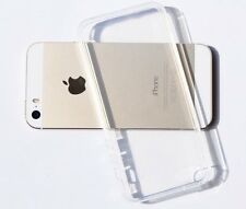 Crystal Clear Transparent Soft Thin Gel Silicone TPU Case Cover For iPhone 5 5S