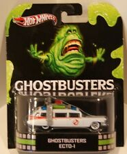 Hot Wheels Retro Entertainment 1st Ghostbusters Ecto-1 Cadillac Ambulance '59