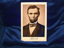 Martyr President Abraham Lincoln Cabinet Card Photograph History