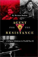 Agent for the Resistance: A Belgian Saboteur in World War II (Texas A -ExLibrary