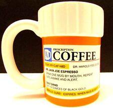 Coffee Cup - Prescription RX Bottle Mug, Humorous Drug Mug, Addicted To Caffeine