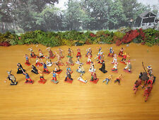 42FP PAINTED PLASTIC 1/72 ANCIENT BRITONS WITH CHARIOT HELLER AIRFIX 240