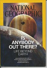 """NATIONAL GEOGRAPHIC """"IS ANYBODY OUT THERE?"""" JULY 2014"""