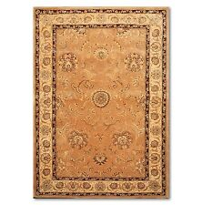 "5'6""x8'6"" Nourison Handmade Wool &real silk Persian Area Rug  Design 2206 CAM"