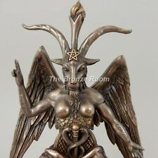 THE GOAT OF MENDES BAPHOMET - COLD CAST BRONZE