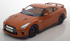 Triple 9 2017 Nissan Skyline GTR Orange Metallic Color 1:18*New Item*Rare!