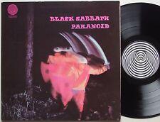 BLACK SABBATH Paranoid ORIGINAL Lp AUSTRALIA Vertigo SWIRL Rock Metal '70 EX/VG+