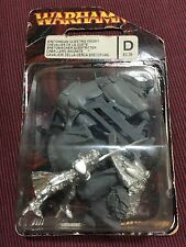 Bretonnia questing knight Sixth Edition Rare Version Metal OOP