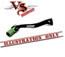 Apico Forged Gear Lever Kawasaki KX80 KX85 KX100 81-13 Black and Green