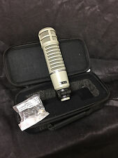 Electro-Voice USED RE20 microphone w/case MINT CONDITION RE-20 RE 20 USED WOW!