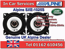 Landrover Defender Front Under Dash Replacement Alpine Car Speakers Upgrade 180W