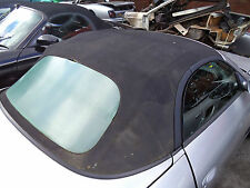 Porsche Boxster 986 Black Convertible Roof 986 Black Fabric Cabriolet T80XSR