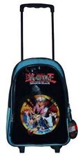 "Yu-Gi-Oh Rolling backpack Large full size 16"" School Bag luggage wheels new tags"