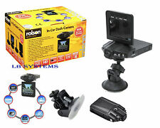 In Car Vehicle Camera Dash Cam Night Vision Accident Crash Recorder ROLSON 720P