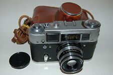 FED 4 Soviet Rangefinder Camera. Industar-61 lens. CLAd. 1968. No.8607469 .
