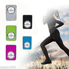 Portable USB Mini MP3 Player Metal Support 32GB Micro SD TF Card Music Media New