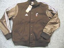 NEW ADIDAS NCAA CINCINNATI BEARCATS COACHES VARSITY JACKET SIZE XS