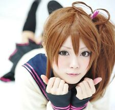 Brothers Conflict Ema Asahina Brown Cosplay Wig With Ponytail