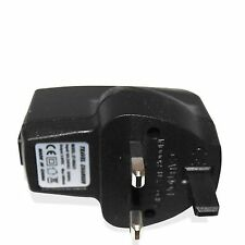 UK USB TO MAINS CHARGER ADAPTER POWER PLUG FOR ALL BLACKBERRY PHONE MODELS