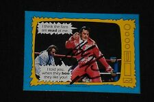 THE HONKY TONK MAN 1987 TOPPS WWF WRESTLING SIGNED AUTOGRAPHED CARD #72