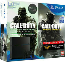SONY PLAYSTATION4 PS4 1TB CALL OF DUTY INFINITE WARFARE BUNDLE @ 2 FREE GAMES