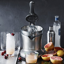 Breville Compact Home Kitchen Electric Citrus Fruits Pulp Juicer Press Extractor