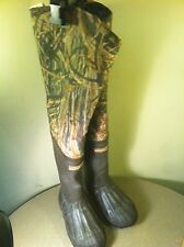 Hodgman Hip Wader Boots Realtree (Camouflage) Youth Size 13 Fishing Hunting