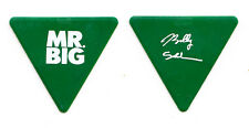 Mr. Big Billy Sheehan Signature Green Triangle Guitar Pick - 2011 Tour Talas