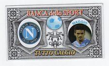 figurina BANCA DELLO SPORT TUTTO CALCIO 2015/2016 NAPOLI MAGGIO