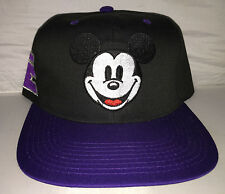Vtg Disney Mickey Mouse Snapback hat cap rare 90s NWOT cartoon goofy donald