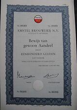 Amstel Bier Brouwerij Amsterdam 1966 Heineken