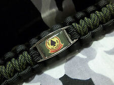 "Marine Light Attack Helicopter Squadron HMLA-267 ""STINGERS"" Paracord Key Fob"