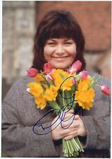 DAWN FRENCH - Signed 12x8 Photograph - TV - VICAR OF DIBLEY