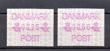 Dinamarca Sellos para maquinas distribuidoras año 1990 (BZ-403)