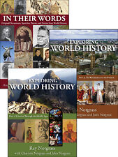 Notgrass - Exploring World History 3 volume set w/ Student Review package