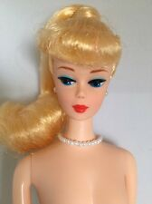 Wedding Day Reproduction Blonde Ponytail Vintage Style Barbie Nude