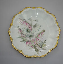 Australian Hand Painted China Display Plate signed HJH
