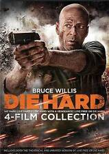 Die Hard: The Ultimate Collection (DVD, 2014, 4-Disc Set) 4 Film Collection