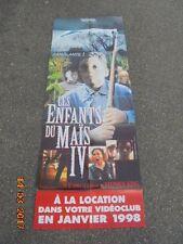 """Affiche / Poster de Cinéma / Stephen KING / FILM  """"LES ENFANTS DU MAIS IV"""""""