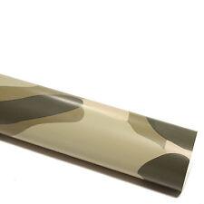 5x DIN A4 Wrapping Folie Kamouflage Desert 21x29,7cm Autofolie mit Luftkanälen